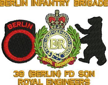 38 BERLIN REUNION EMBROIDERED POLO SHIRT